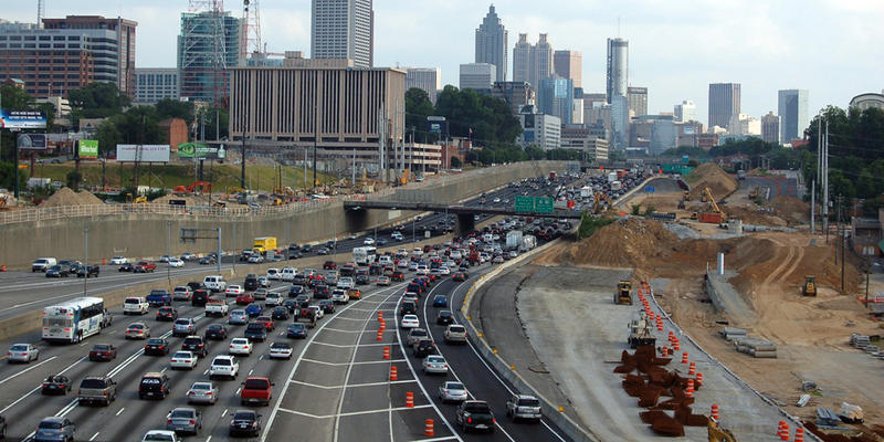 Atlanta is ranked 8th as most congested and longest commute city in the world.