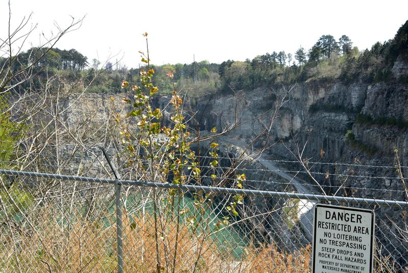Bellwood Quarry from the observation deck