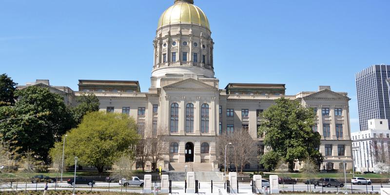 Exterior of Georgia Capitol March 18, 2015