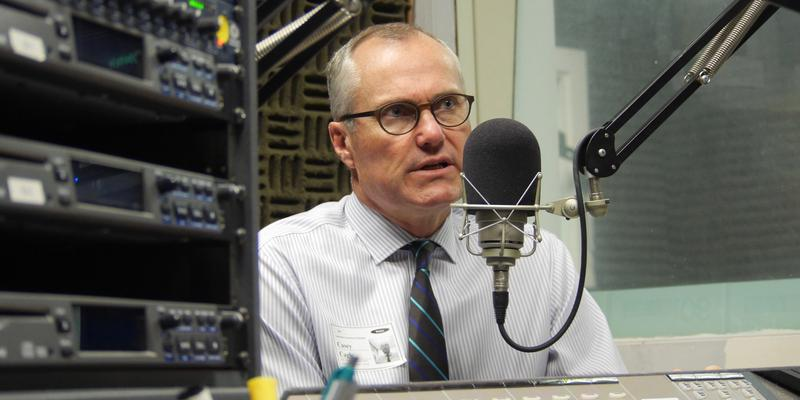 Lt. Gov. Casey Cagle (R-Georgia), speaking with Denis O'Hayer in the WABE studios on May 17, 2016.