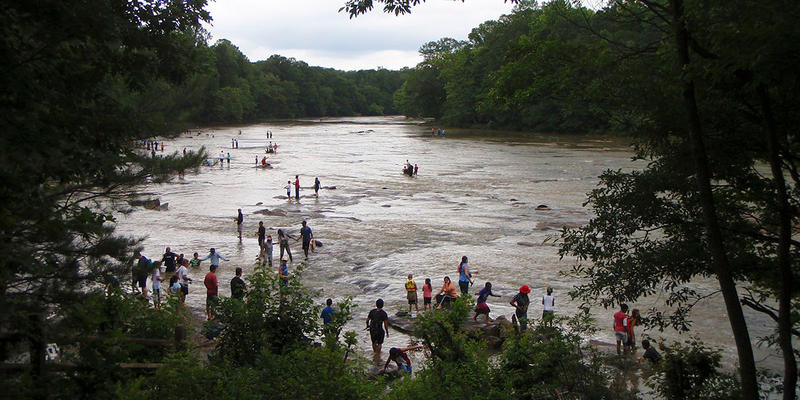 Johns Creek Kids Fishing Event on the Chattahoochee River