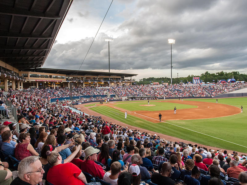 Coolray Field, formerly Gwinnett Stadium, has been home to the Gwinnett Braves since 2009.