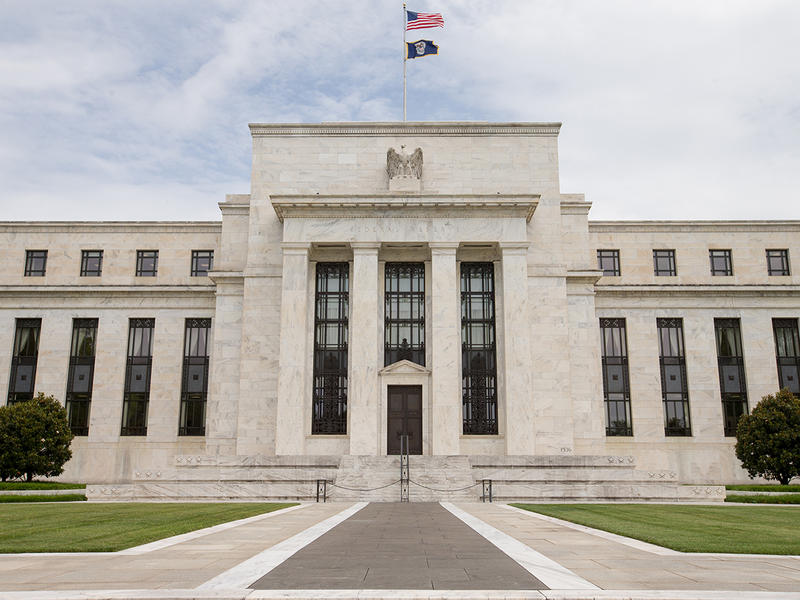 This June 19, 2015 photo shows the Marriner S. Eccles Federal Reserve Board Building, in Washington. The Federal Reserve is getting close to raising interest rates for the first time in nearly a decade, possibly in September.