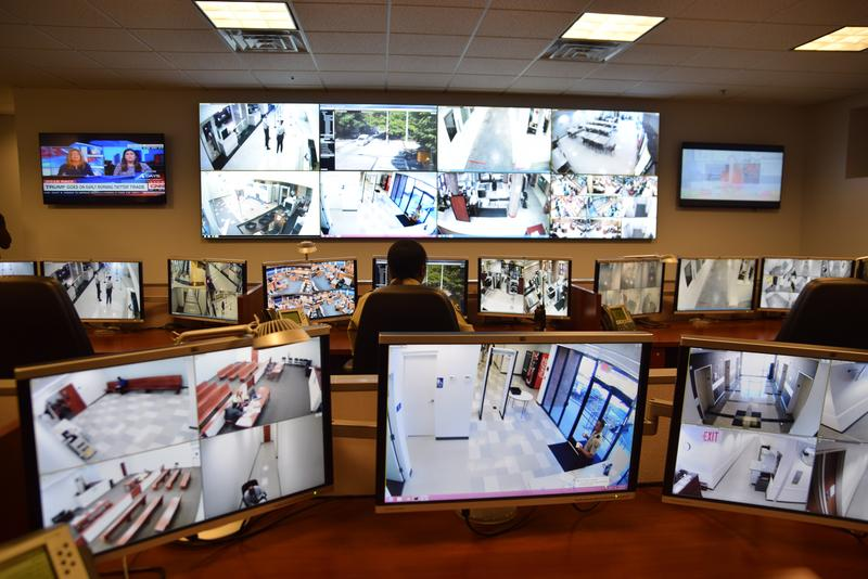 The new $1.5 million command center at the Fulton County Courthouse will be able to access all cameras in Fulton County government buildings.