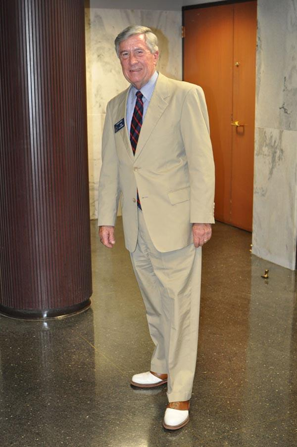 Sen. George Hooks (D-Americus), in a photo posted by GaPundit.com