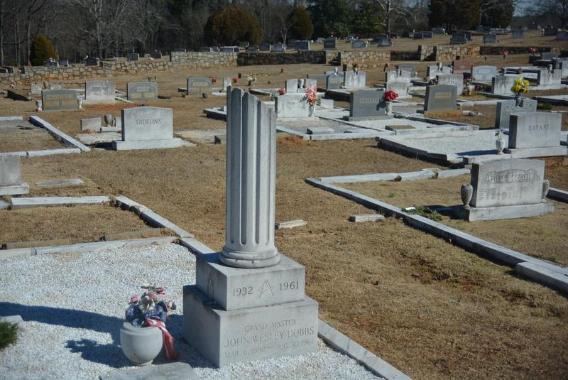 John Wesley Dobbs is among the prominent leaders buried at the South-View cemetery.
