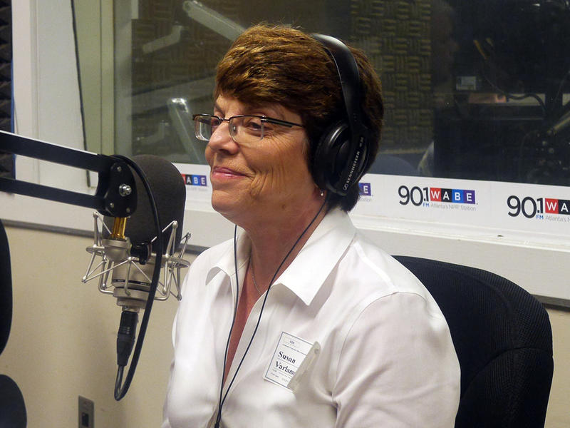 Susan Varlamoff, director of environmental services for UGA's College of Agriculture and Environmental Sciences, talks with Rose Scott and Denis O'Hayer on A Closer Look on Tuesday, June 23, 2015.