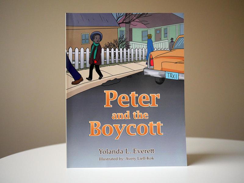 """Peter and the Boycott"" is a children's book based on the Montgomery Bus Boycott of 1955, by Atlanta teacher Yolanda Everett."