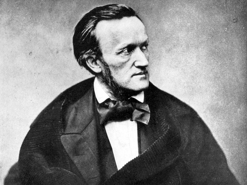 A photograph of composer Richard Wagner, Paris, 1861; this was taken when Wagner was in France for the premiere of Tannhauser.