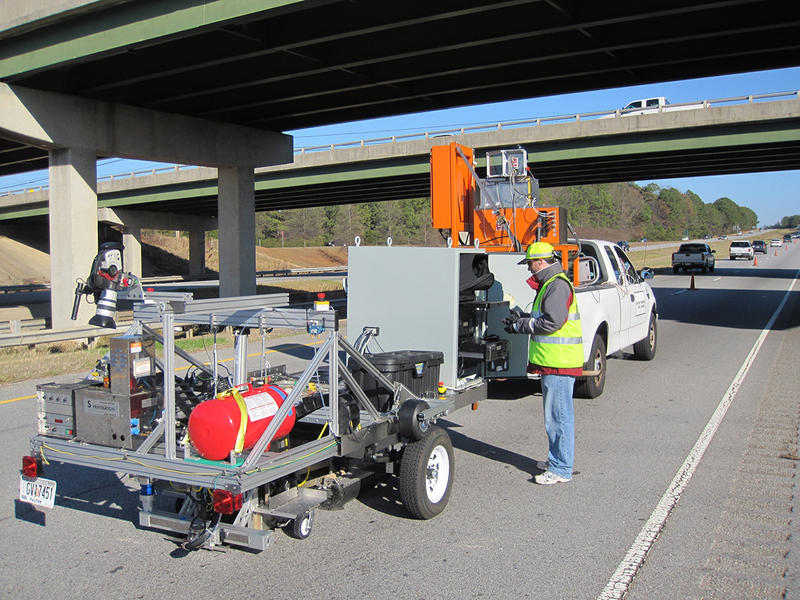 Roadbot prototype, GDOT