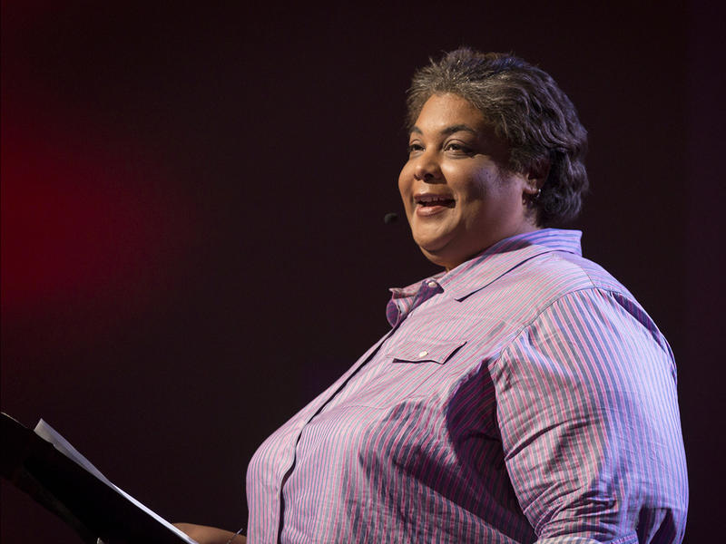 Roxane Gay speaks at TEDWomen2015 - Momentum, Session 2, May 28, 2015, Monterey Conference Center, Monterey, California, USA.