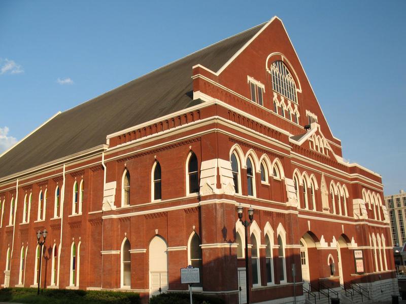 Ryman Auditorium- 5th Avenue, Nashville, August 6, 2008