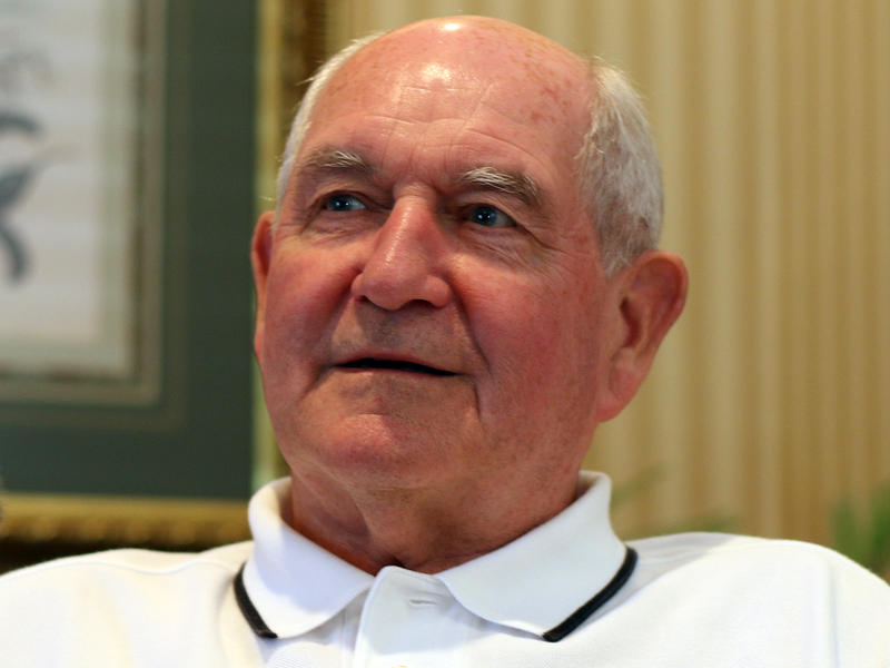 Former Georgia Governor Sonny Perdue remembers what it was like dealing with the aftermath of hurricane Katrina in Georgia with WABE's Denis O'Hayer on Tuesday, August 25, 2015.