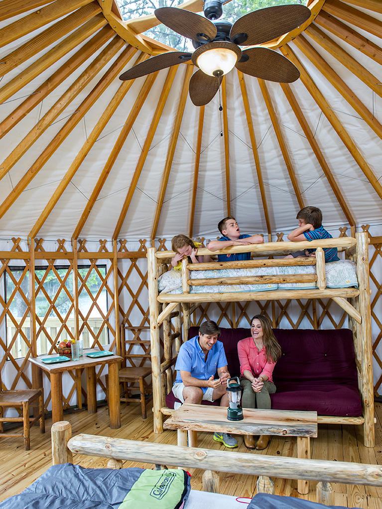 6 Ga Glamping Destinations For The Adventurous Indoorsman Wabe 90 1 Fm