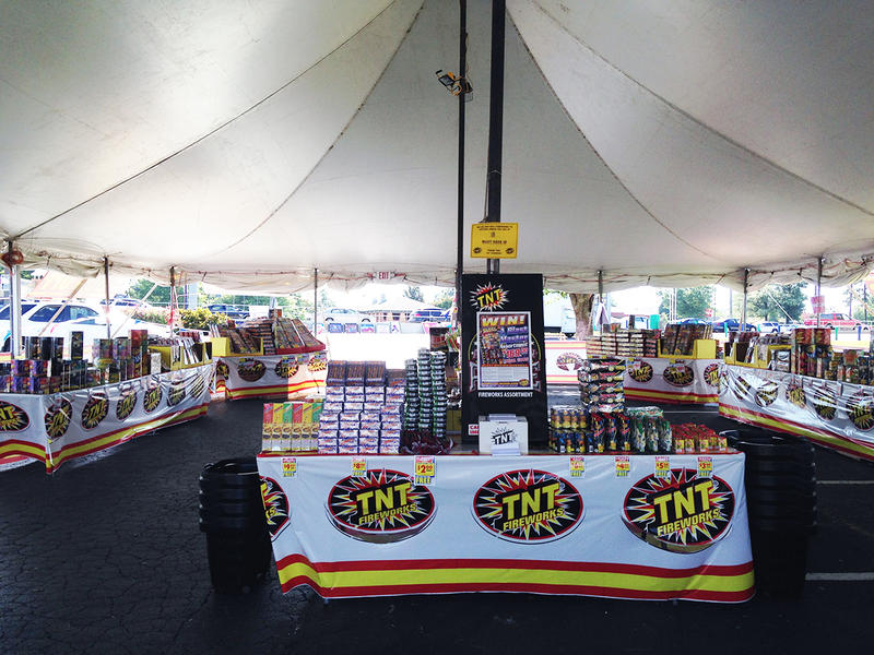 Sparklers and ground fireworks like these, sold in a tent in a Norcross shopping center, are currently legal in Georgia.