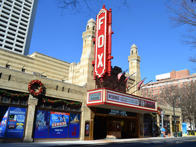 Fox Theatre in Atlanta on Peachtree Street