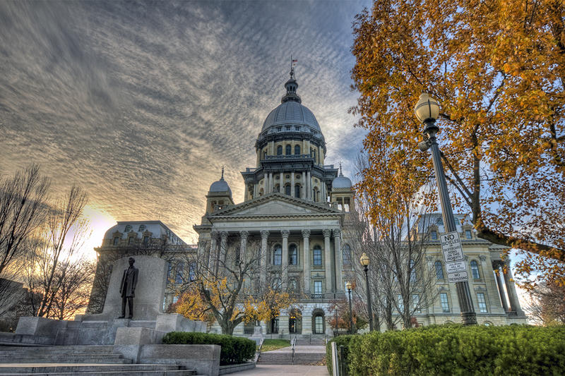 Capitol Buliding in Springfield, Illinois