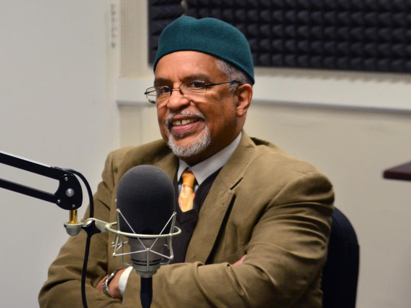 Imam Plemon T. El-Amin, during an interview on January 15, 2015 at the studios of WABE.