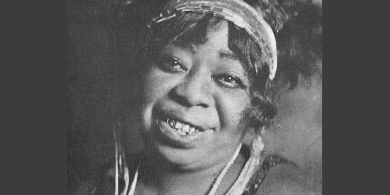 "Gertrude Pridgett ""Ma"" Rainey."