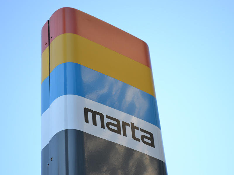 MARTA sign