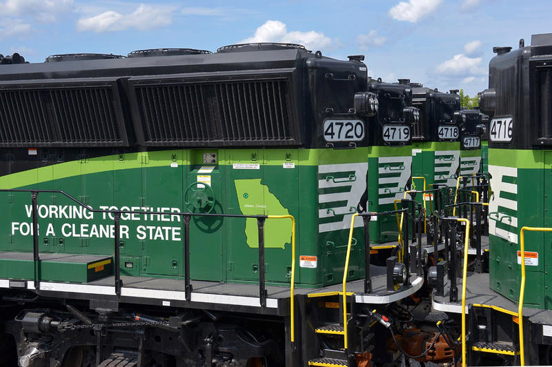 "Norfolk Southern's ""Eco"" Locomotives"