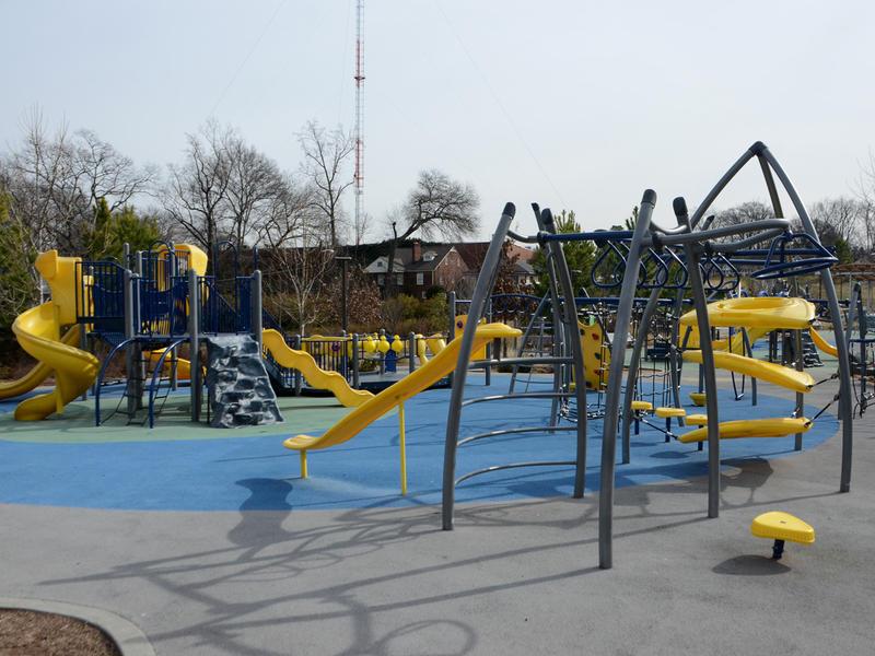 Playground at Historic Fourth Ward park in Atlanta, Feb. 3, 2015