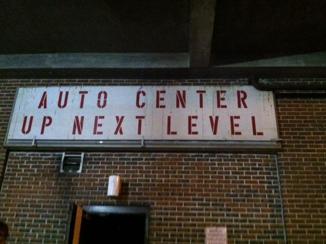 Inside the old Auto Center, thousands of old artifacts are being stored for re-use.