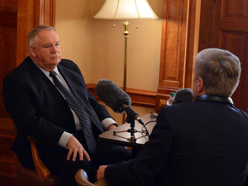 Georgia House Speaker Rep. David Ralston at the state Capitol, Jan. 8, 2015
