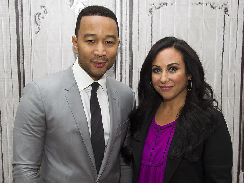 """John Legend and director Gillian Laub participate in AOL's BUILD Speaker Series to discuss the film """"Southern Rites"""" at AOL Studios on Monday, May 11, 2015, in New York."""