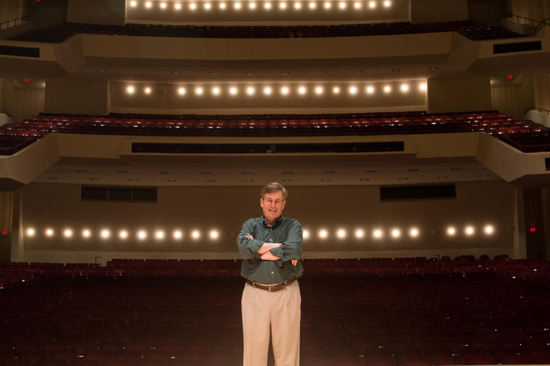 Norman Mackenzie, director of choruses for the Atlanta Symphony Orchestra, poses for a portrait on July 9, 2015.