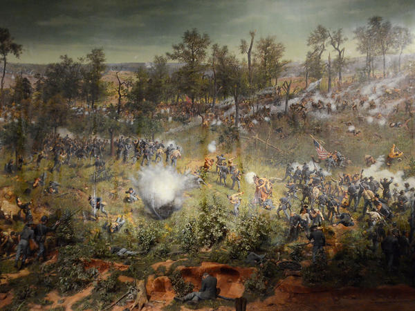 The Atlanta Cyclorama and Civil War Museum is closing Tuesday.