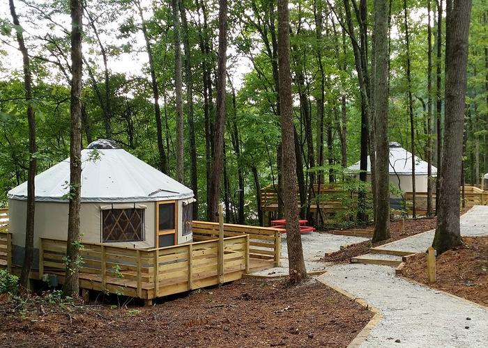 Stone Mountain Georgia Yurts