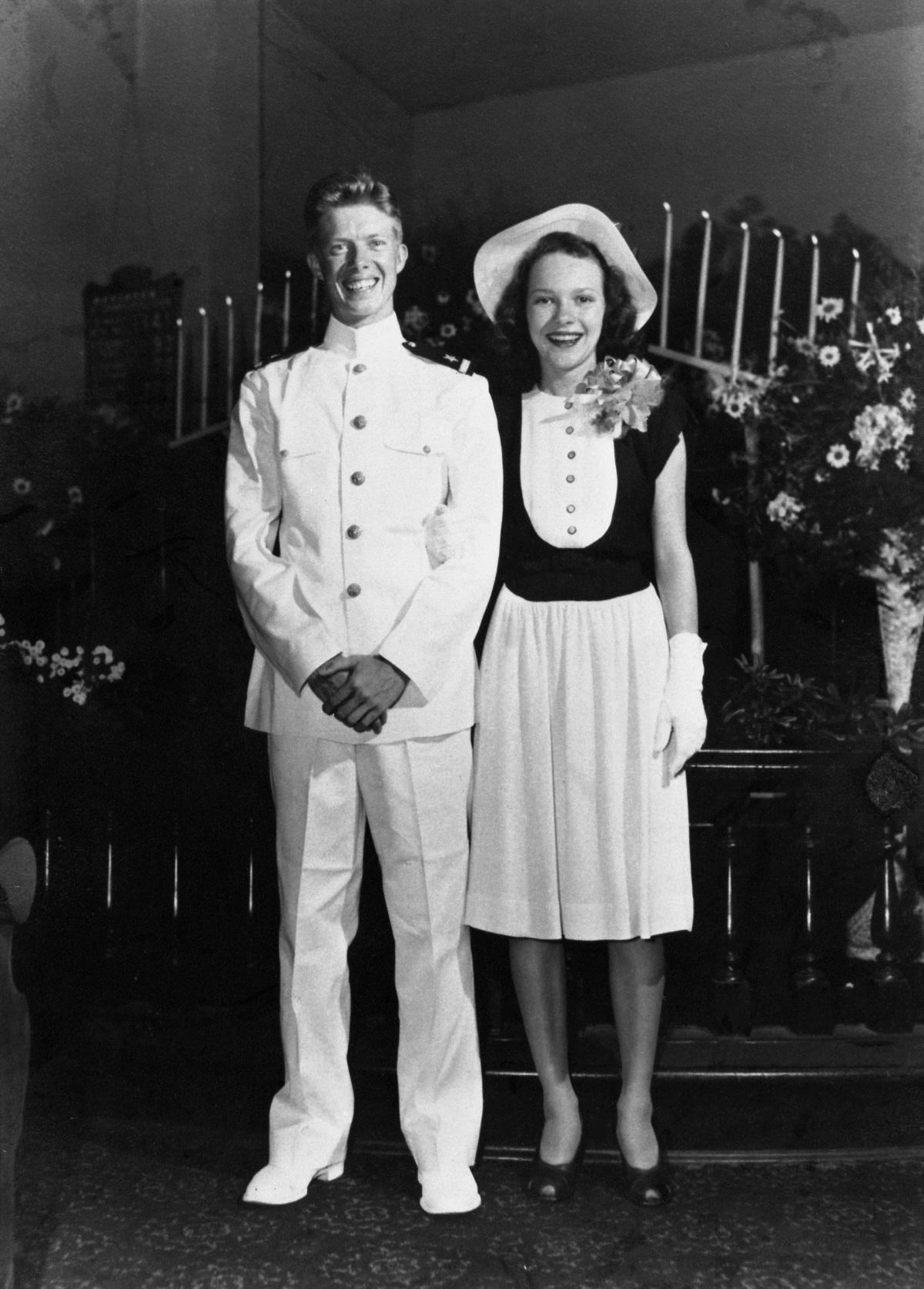 jimmy and rosalynn carter celebrate 70th anniversary