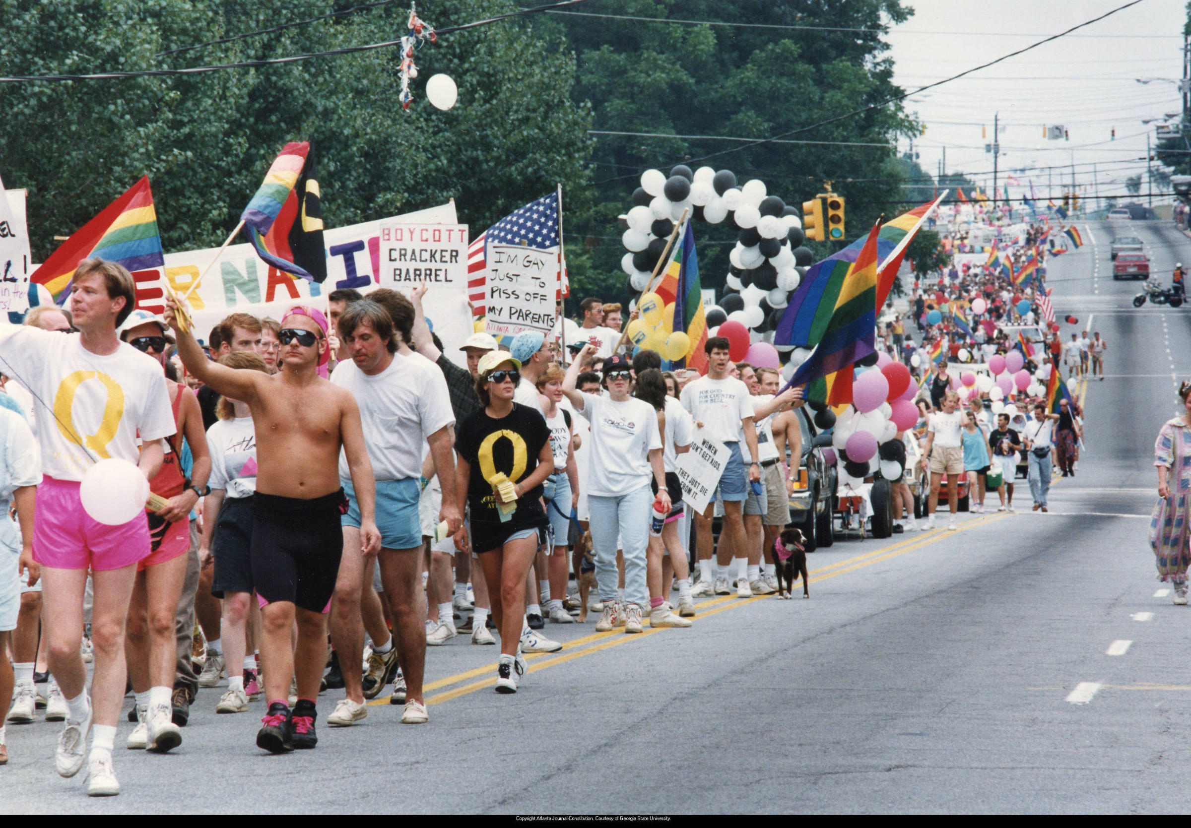History of the gay pride march