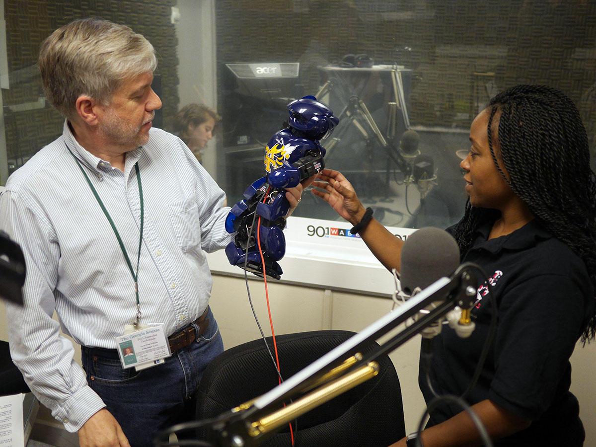 Ga. Tech Engineer Creates Robotic Therapist Of The Future | WABE ...