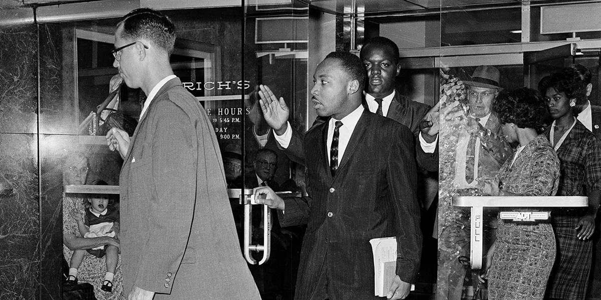 This Day In History Martin Luther King Jr Arrested At Sit In