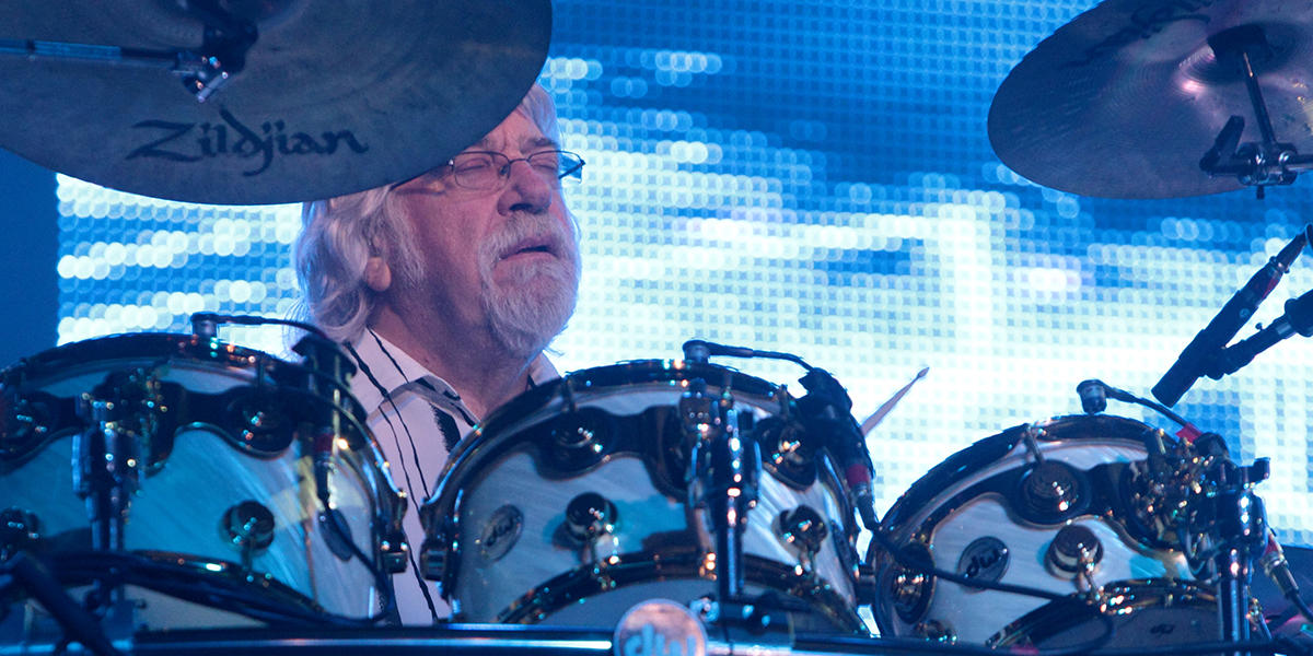 Moody Blues' Graeme Edge Reflects On 50 Years Of Touring