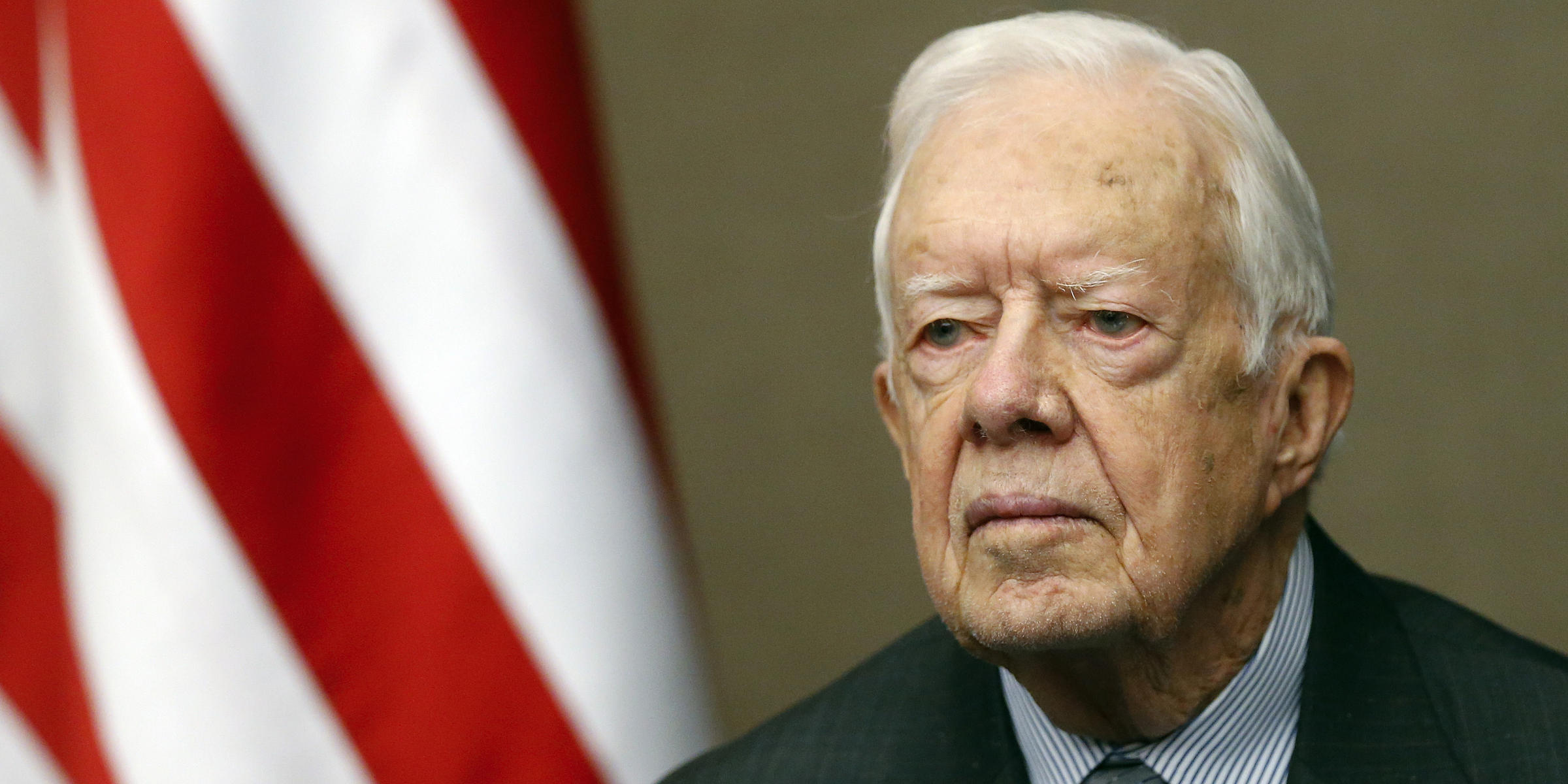 Jimmy Carter to Trump: 'Keep the peace' and 'tell the truth'