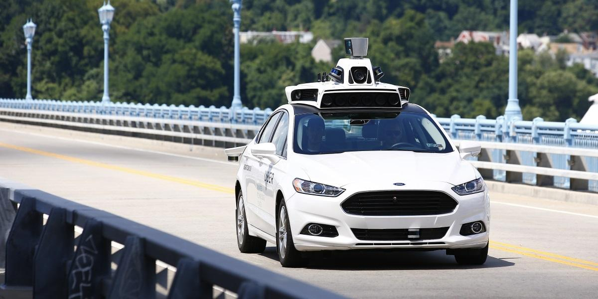 18 2016 File Photo Uber Employees Test A Self Driving Ford Fusion Hybrid Car In Pittsburgh Metro Atlanta Seems Uniquely Positioned To Steer The