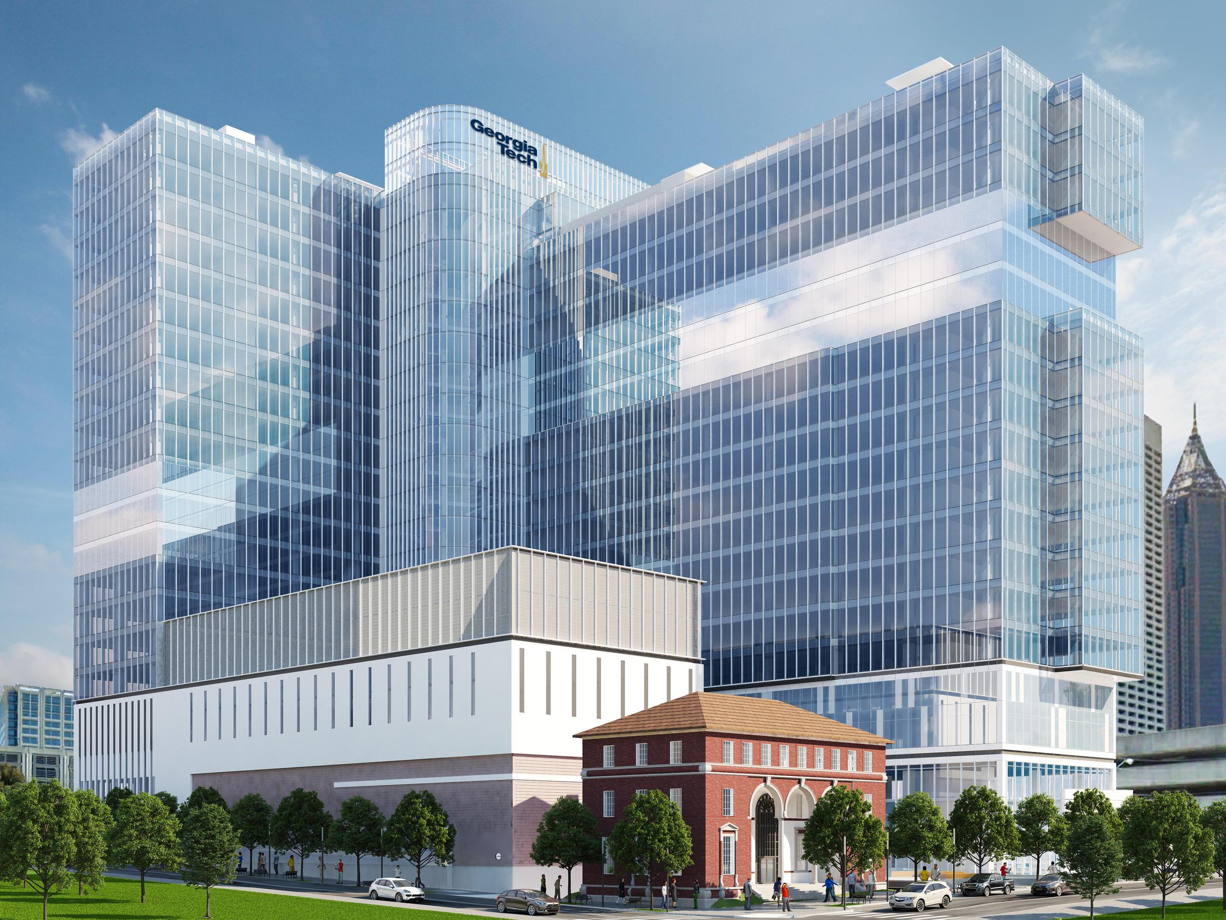 Georgia Tech 39 S Planned Data Center Has Futuristic Design