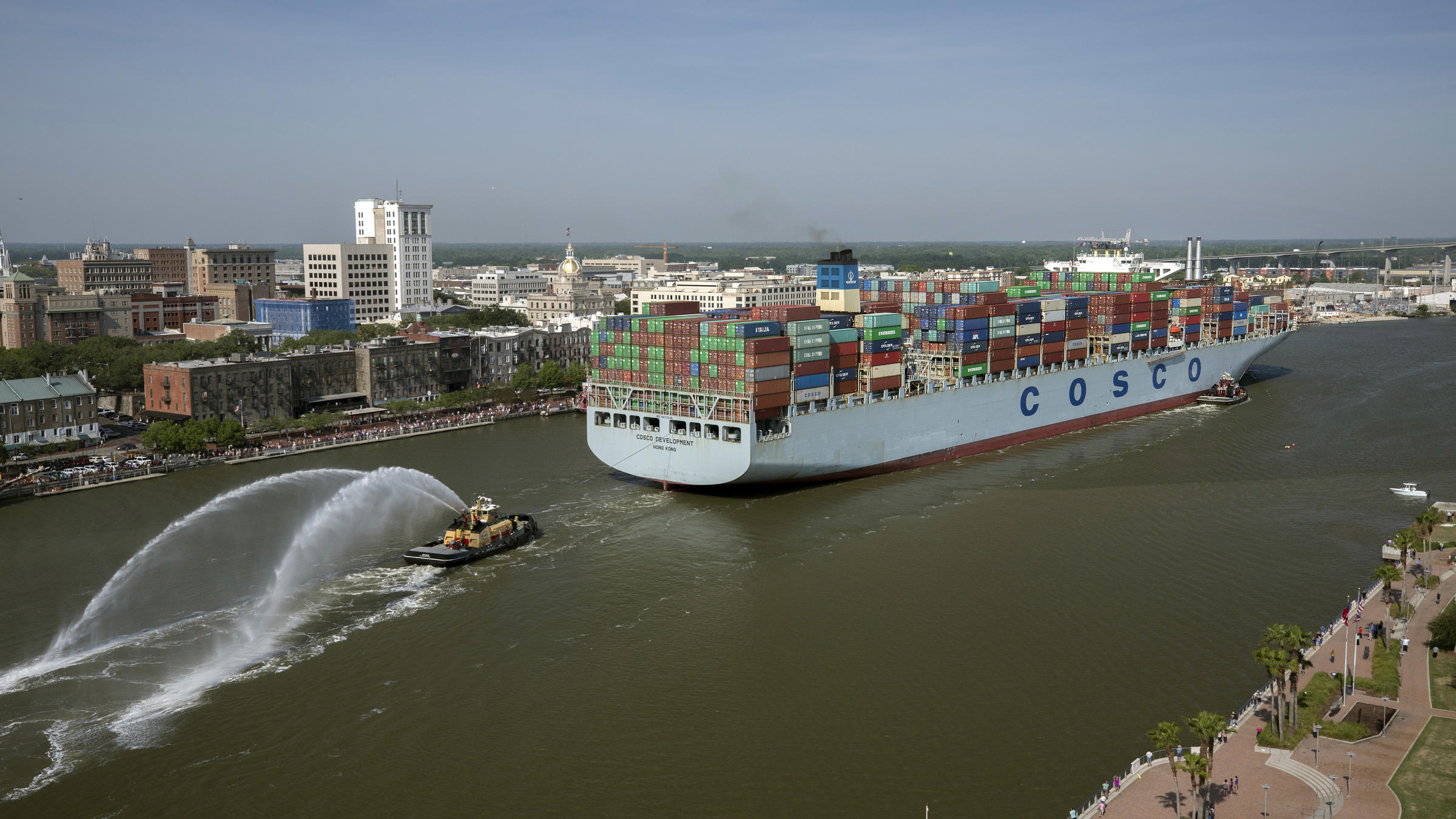 Georgia Ports Authority posts record throughput for FY2017