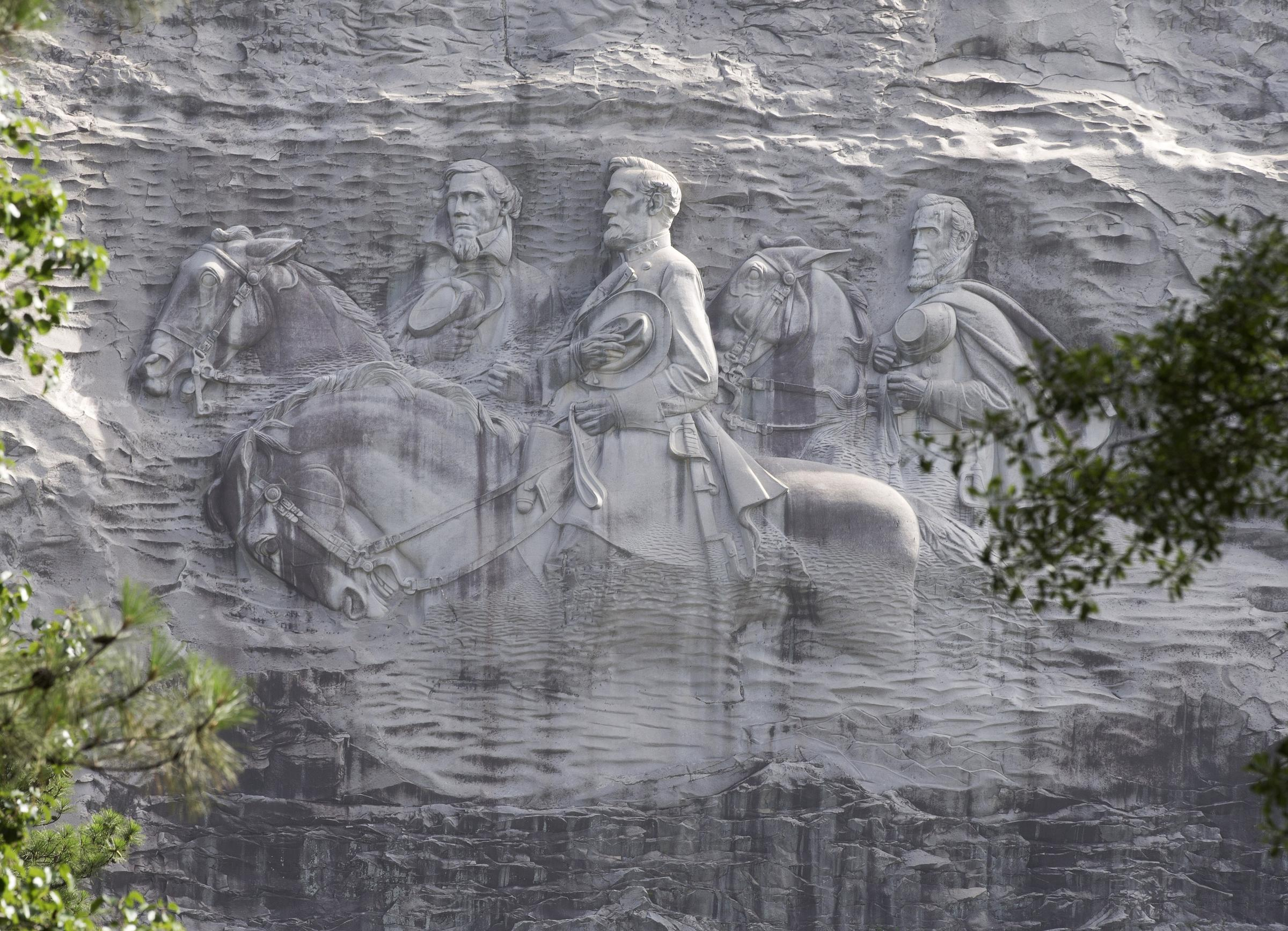 Renewed calls to remove carvings on stone mountain wabe fm