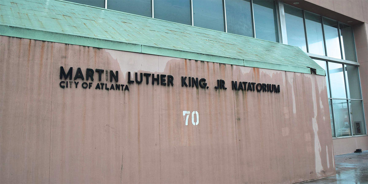 Atlanta begins work on new mlk pool and rec center wabe - Martin luther king jr swimming pool ...