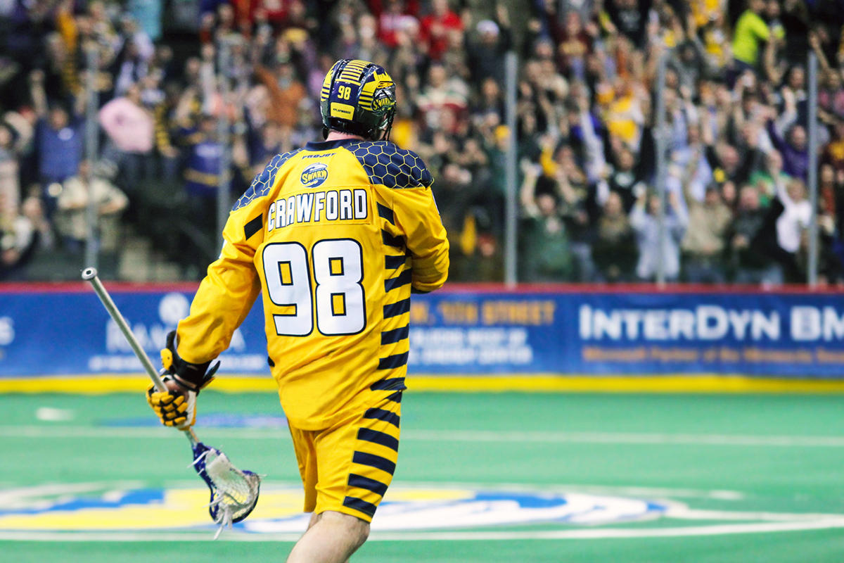 atlanta gets swarmed as pro lacrosse team moves to town wabe forward callum crawford no 98