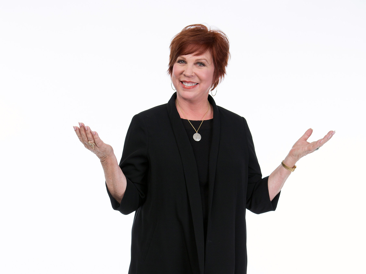 Actress Vicki Lawrence talks about chronic idiopathic urticaria in a    Vicki Lawrence