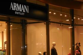 Armani one of three high-end outlets that opened Monday at Destiny
