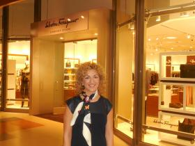 Ferragamo Manager promises top quality at new Destiny outlet store