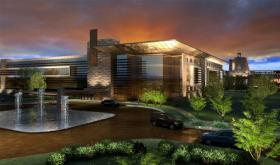 Wilmorite has given town officials a proposal for a casino and resort and paid the state $1 million for an application fee.