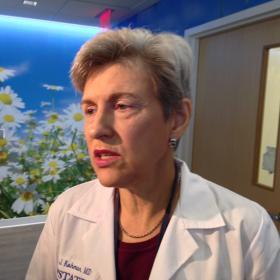 Upstate Cancer Center Director, Dr. Leslie Kohman
