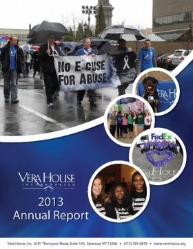 Vera House annual report details range of services, grant and fundraising totals.